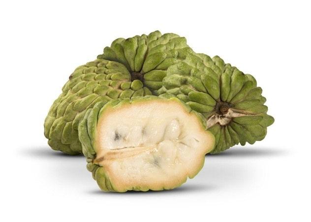 آتمویا Atemoya ترکیبی از از میوه شکر سیب و cherimoya